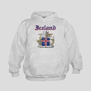 Iceland Coat of arms Kids Hoodie