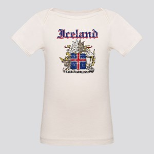 Iceland Coat of arms Organic Baby T-Shirt