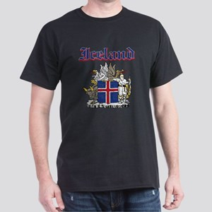 Iceland Coat of arms Dark T-Shirt