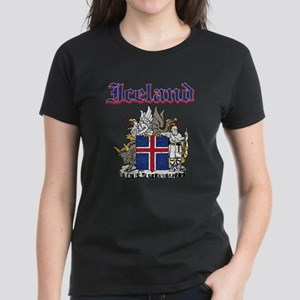 Iceland Coat of arms Women's Dark T-Shirt