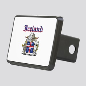 Iceland Coat of arms Rectangular Hitch Cover