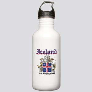Iceland Coat of arms Stainless Water Bottle 1.0L