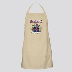 Iceland Coat of arms Apron