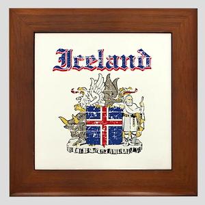Iceland Coat of arms Framed Tile