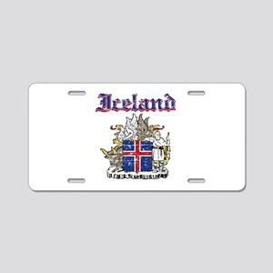 Iceland Coat of arms Aluminum License Plate