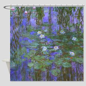 Monet - Blue Water Lilies Shower Curtain