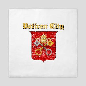 Vatican City Coat of arms Queen Duvet