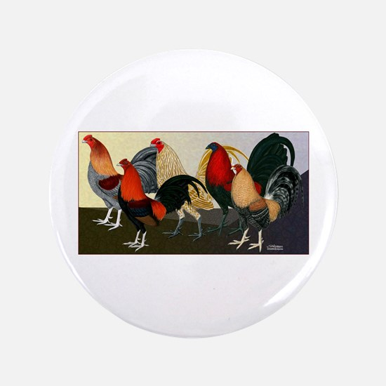 "Rooster Dream Team 3.5"" Button"