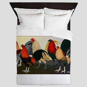 Rooster Dream Team Queen Duvet