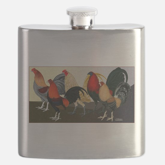 Rooster Dream Team Flask