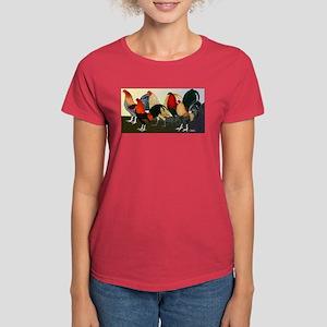 Rooster Dream Team Women's Dark T-Shirt