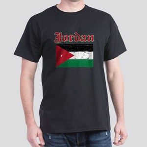 Jordan Flag Designs Dark T-Shirt