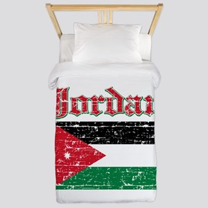 Jordan Flag Designs Twin Duvet