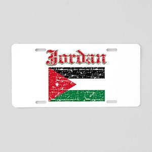 Jordan Flag Designs Aluminum License Plate