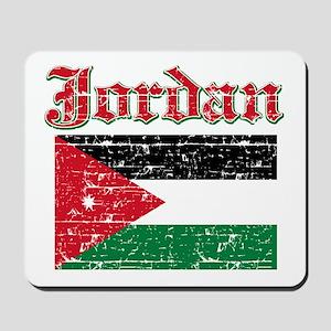 Jordan Flag Designs Mousepad