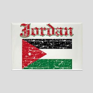 Jordan Flag Designs Rectangle Magnet