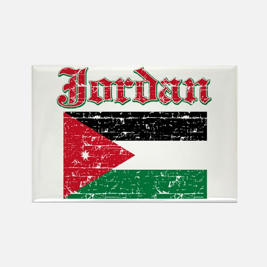 Jordan Flag Designs Rectangle Magnet