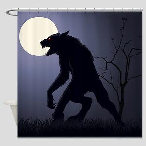 Werewolf Shower Curtain