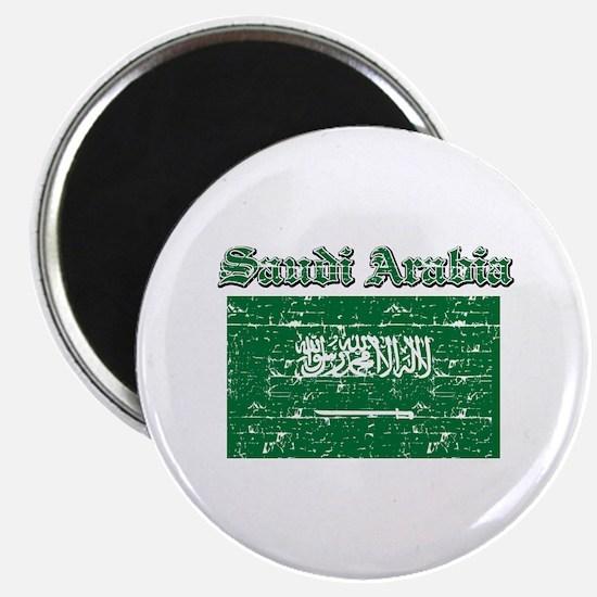 Saudi Arabia Flag Designs Magnet