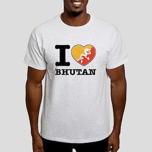 I heart Bhutan Light T-Shirt