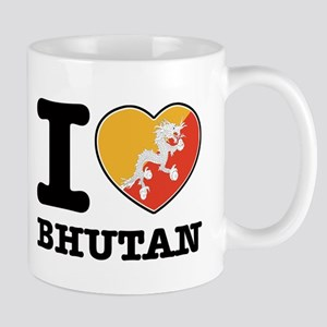 I heart Bhutan Mug