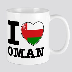 I heart Oman Mug