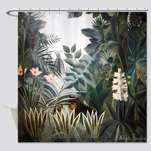 Henri Rousseau Rain Forest Shower Curtain