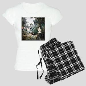 Henri Rousseau Rain Forest Women's Light Pajamas