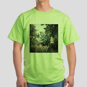 Henri Rousseau Rain Forest Green T-Shirt