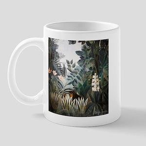 Henri Rousseau Rain Forest Mug