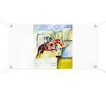 Equestrian - horse art Banner