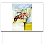 Equestrian - horse art Yard Sign