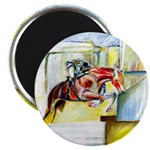 Equestrian - horse art Magnet