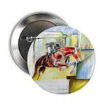 "Equestrian - horse art 2.25"" Button"