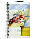 Equestrian - horse art Journal