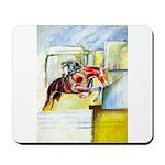 Equestrian - horse art Mousepad