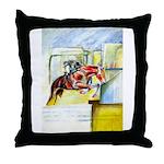 Equestrian - horse art Throw Pillow