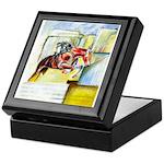 Equestrian - horse art Keepsake Box