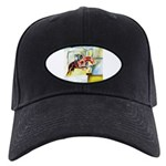 Equestrian - horse art Black Cap