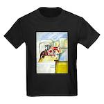 Equestrian - horse art Kids Dark T-Shirt