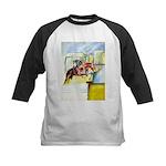 Equestrian - horse art Kids Baseball Jersey