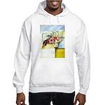 Equestrian - horse art Hooded Sweatshirt