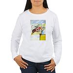 Equestrian - horse art Women's Long Sleeve T-Shirt