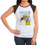 Equestrian - horse art Women's Cap Sleeve T-Shirt