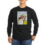 Equestrian - horse art Long Sleeve Dark T-Shirt