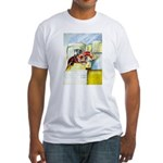 Equestrian - horse art Fitted T-Shirt