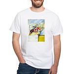 Equestrian - horse art White T-Shirt