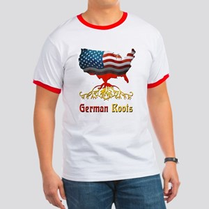 American German Roots Ringer T