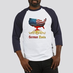 American German Roots Baseball Jersey