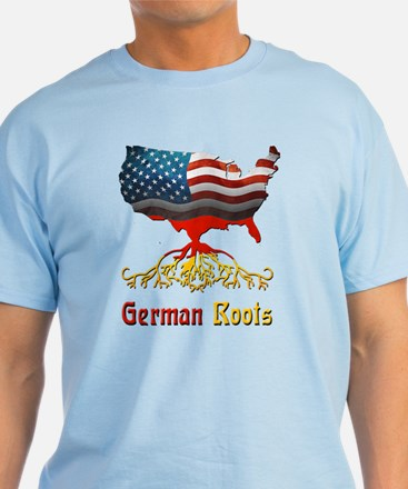 American German Roots T-Shirt